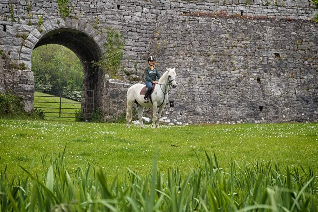 Ancient Ireland horse riding